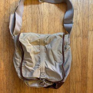 Esprit Canvas Messenger Bag